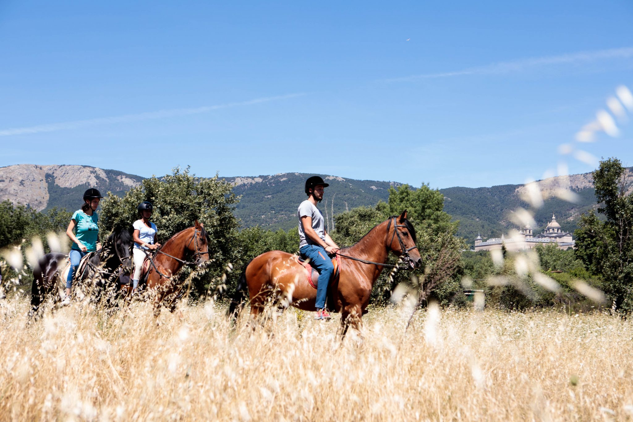 horseback riding madrid